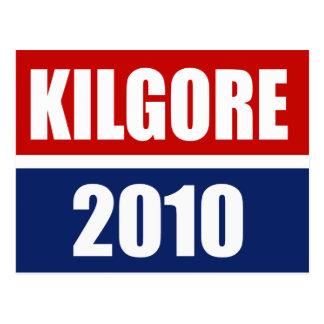 KILGORE 2010 TARJETAS POSTALES