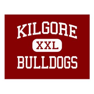 Kilgore - dogos - High School secundaria - Kilgore Tarjetas Postales