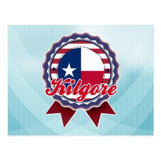 Kilgore, TX Tarjeta Postal