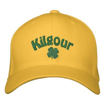 Kilgour - trébol de cuatro hojas gorro bordado