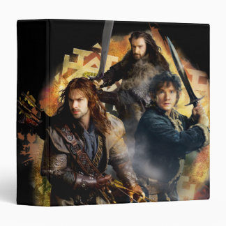 Kili, BAGGINS™, & THORIN OAKENSHIELD™ Graphic Binder