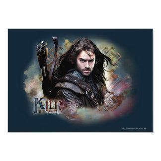 Kili con nombre invitación 12,7 x 17,8 cm