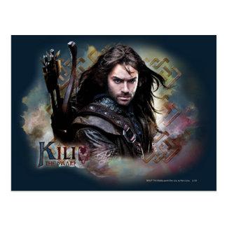 Kili con nombre postales