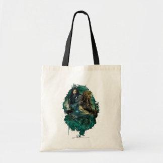 Kili & Fili Over Erebor Tote Bag