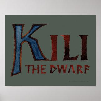 Kili Name Poster