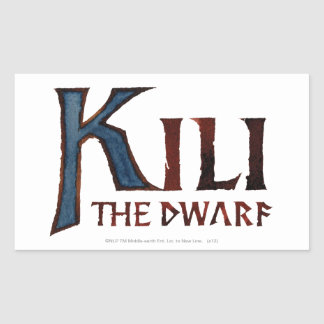 Kili Name Rectangular Sticker