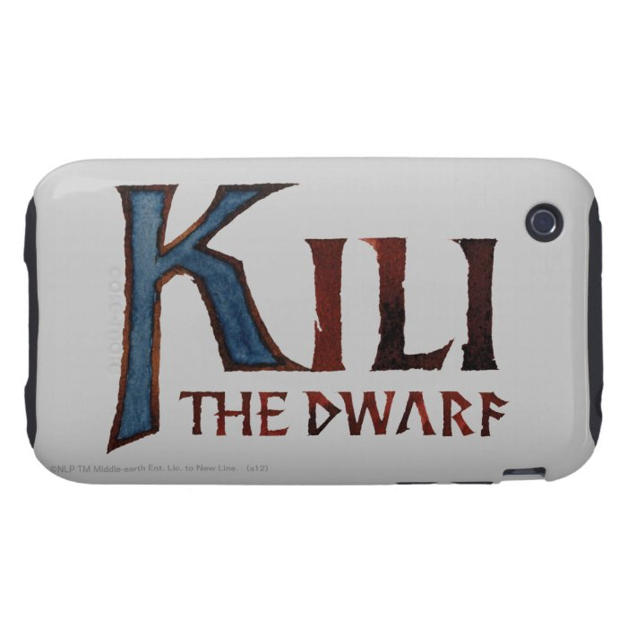 Kili Name Tough iPhone 3 Cover