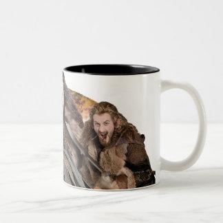 Kili, THORIN OAKENSHIELD™, and Fili Two-Tone Coffee Mug