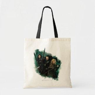 Kili, THORIN OAKENSHIELD™, & Fili Graphic Canvas Bag