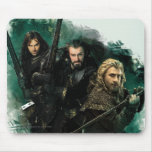 Kili, THORIN OAKENSHIELD™, & Fili Graphic Mouse Pad