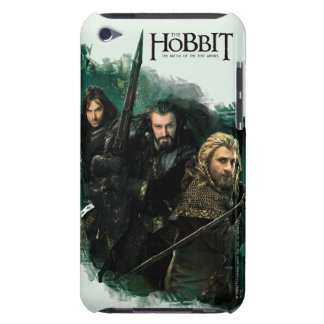 Kili, THORIN OAKENSHIELD™, y gráfico de Fili Cubierta Para iPod De Barely There
