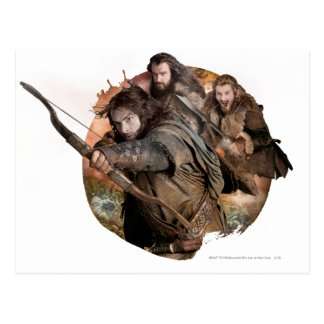 Kili Thorin y Fili Tarjetas Postales