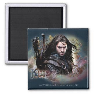 Kili With Name 2 Inch Square Magnet