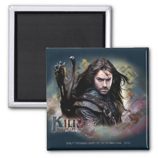 Kili With Name Magnet