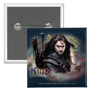 Kili With Name Pinback Button