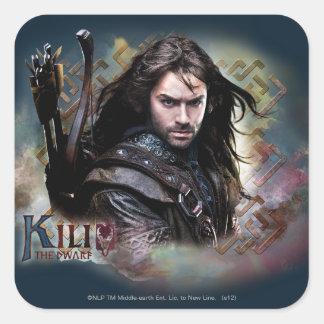 Kili With Name Square Sticker