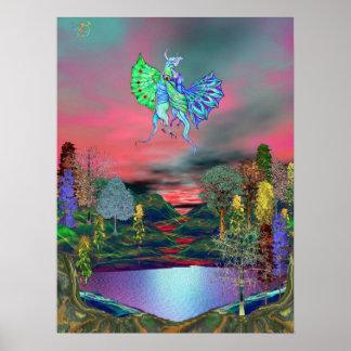 Kilidascope Forest Print