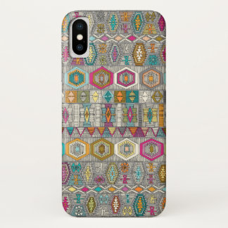 kilim pembe iPhone x case