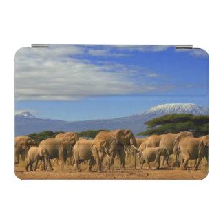 Kilimanjaro And Elephants iPad Mini Cover