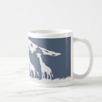 Kilimanjaro (azul) taza