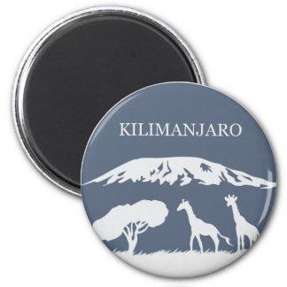 Kilimanjaro (Blue) Magnet
