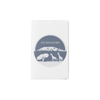 Kilimanjaro (Blue) Pocket Moleskine Notebook