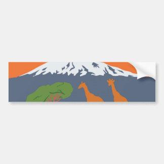 Kilimanjaro Bumper Sticker