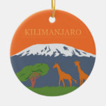 Kilimanjaro Christmas Ornaments