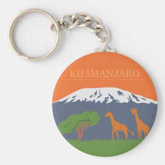 Kilimanjaro Keychain