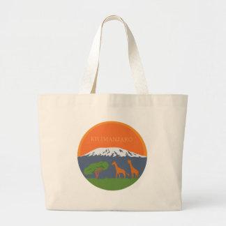 Kilimanjaro Large Tote Bag