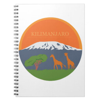 Kilimanjaro Libros De Apuntes Con Espiral
