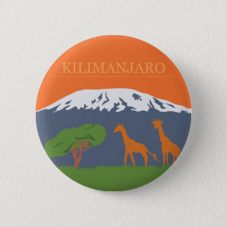 Kilimanjaro Pinback Button