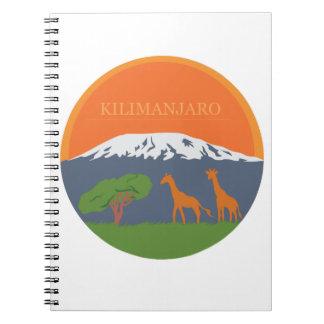 Kilimanjaro Spiral Notebook
