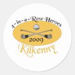 Kilkenny 4-in-a-Row Commemorative Classic Round Sticker