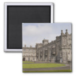 Kilkenny Castle, County Kilkenny, Ireland. 2 Inch Square Magnet
