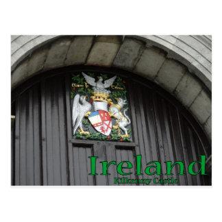 Kilkenny Castle Ireland Postcard