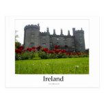 Kilkenny Castle, Ireland Tarjeta Postal