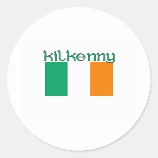 Kilkenny, Irlanda Pegatinas Redondas