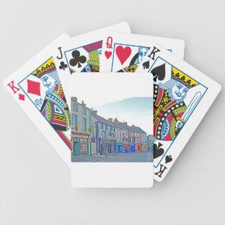 Kilkenny Street Tom Wurl Bicycle Playing Cards