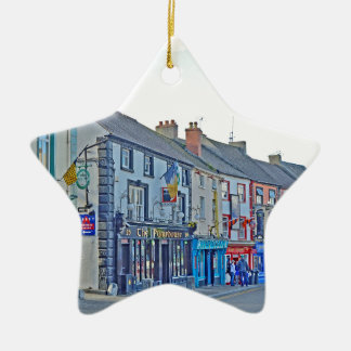 Kilkenny Street Tom Wurl Ceramic Ornament