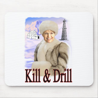 kill and drill mouse pad