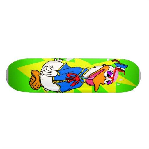 """""""Kill Billed"""" by Conrad Martyn Custom Skateboard"""