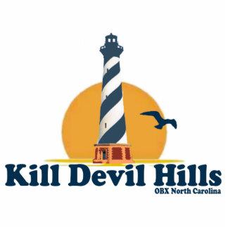 Kill Devil Hills. Photo Sculpture Button