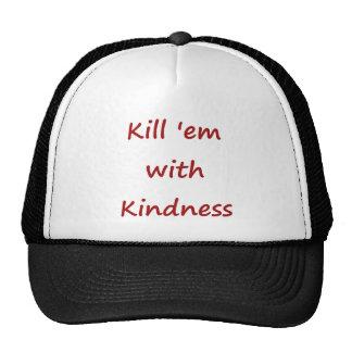 Kill Em With Kindness Mesh Hats