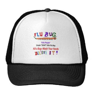 Kill FLU Bugs Mesh Hat