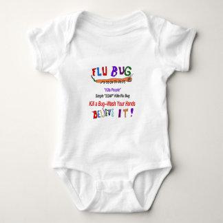 Kill FLU Bugs Tshirts