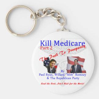 Kill Medicare Part 2 Basic Round Button Keychain