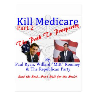 Kill Medicare Part 2 Postcard