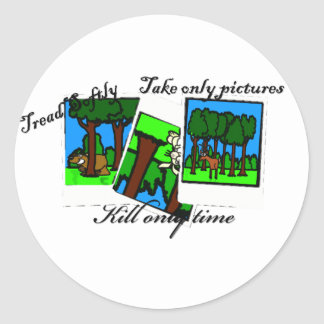 Kill Only Time Stickers