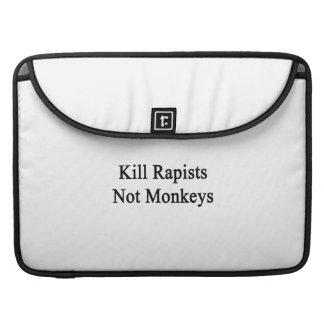 Kill Rapists Not Monkeys Sleeve For MacBooks